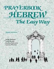 Cover of: Prayerbook Hebrew the Easy Way | Joseph Anderson