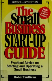 Cover of: The small business start-up guide | Sullivan, Robert
