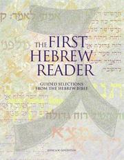 Cover of: Companion to the First Hebrew Reader