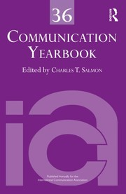 Cover of: Communication Yearbook 36 |