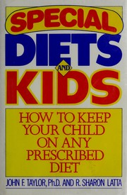 Cover of: Special diets and kids