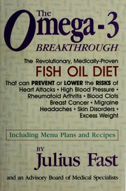 Cover of: Omega-3 Breakthrough