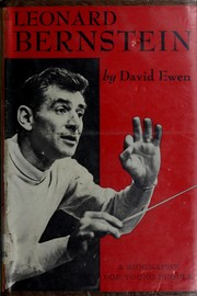 Cover of: Leonard Bernstein: a biography for young people.