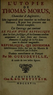 Cover of: L'Utopie