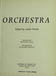Cover of: Orchestra