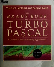 Cover of: The Brady Book of Turbo PASCAL | Michael Edelhardt