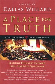 Cover of: A place for truth