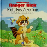 Cover of: Rick's first adventure