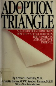 The adoption triangle by Arthur D. Sorosky