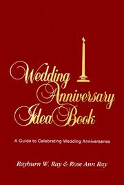 Cover of: Wedding Anniversary Idea Book