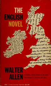 Cover of: The English novel