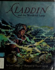 Cover of: Aladdin and the wonderful lamp | Carol Carrick