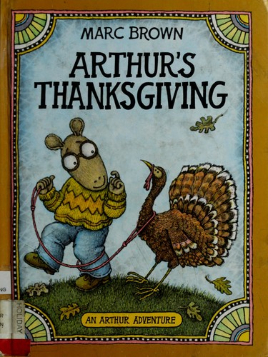 Thanksgiving Cookbook Cover : Arthur s thanksgiving adventure series