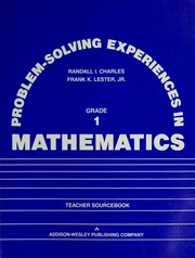 Cover of: Problem-solving experiences in mathematics | Randall Charles
