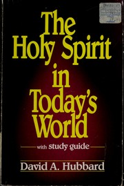 The Holy Spirit in todays world