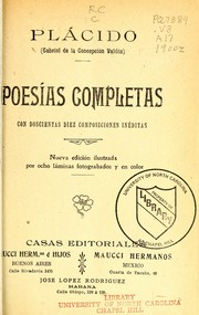 Cover of: Poesías completas
