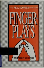 Cover of: The Neal-Schuman index to fingerplays | Kay Cooper