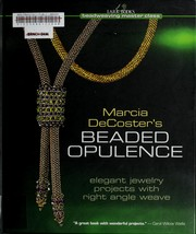 Cover of: Marcia DeCoster's beaded opulence