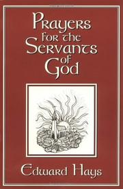 Cover of: Prayers for the Servants of God