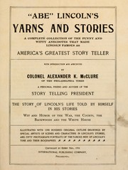 "Cover of: ""Abe"" Lincoln's yarns and stories"