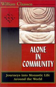 Cover of: Alone in Community