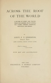 Cover of: Across the roof of the world