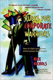 Cover of: Rules for Corporate Warriors