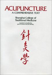 Cover of: Acupuncture