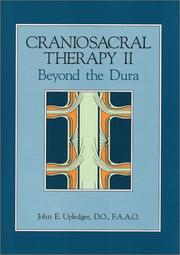Cover of: Craniosacral therapy II