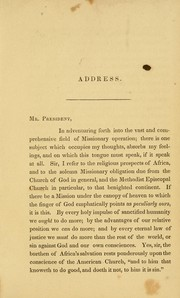 An address delivered at the sixth anniversary meeting of the Foundry Missionary Society by George G. Cookman