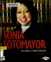 Cover of: Sonia Sotomayor | Lisa Tucker McElroy