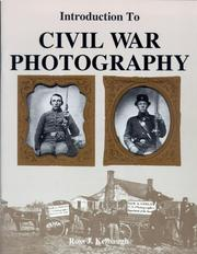 Cover of: Introduction to Civil War Photography