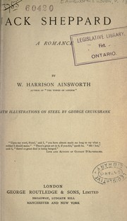 Cover of: Ainsworth's novels