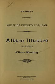 Cover of: Album illustré des oeuvres d'Hans Memling