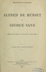 Cover of: Alfred de Musset et George Sand