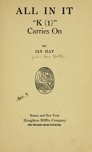 Cover of: All in it | Ian Hay