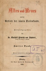 Cover of: Altes und Neues