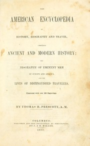 Cover of: The American encyclopedia of history, biography and travel