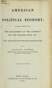 Cover of: American political economy
