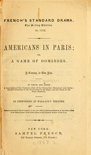 Cover of: Americans in Paris | William Henry Hurlbert