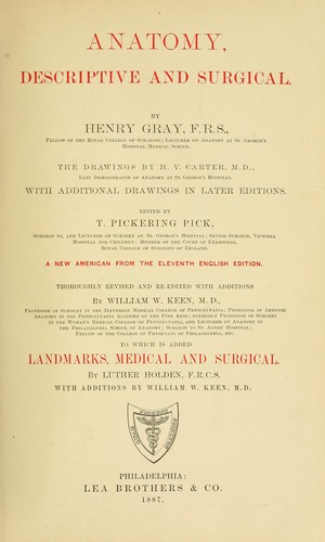Anatomy Descriptive And Surgical 1858 Edition Open Library