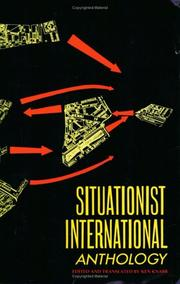 Cover of: Situationist International anthology |