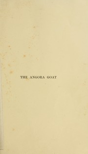 Cover of: The Angora goat