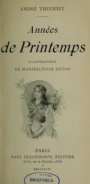 Cover of: Années de printemps