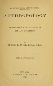 Cover of: Anthropology