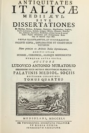 Cover of: Antiquitates italicae medii aevi - volume 4