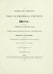 Cover of: The history and antiquities of the cathedral church of Wells | John Britton