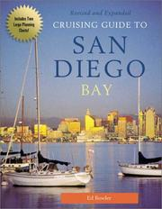 Cover of: Cruising guide to San Diego Bay