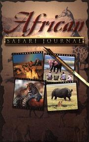 Cover of: African Safari Journal