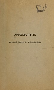 Cover of: Appomattox